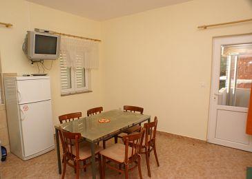 Pašman, Jadalnia w zakwaterowaniu typu apartment, WIFI.
