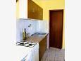 Rastići, Kitchen u smještaju tipa apartment, dopusteni kucni ljubimci i WIFI.