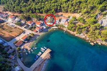 Property Uvala Vela Stiniva (Hvar) - Accommodation 6864 - Apartments near sea with pebble beach.