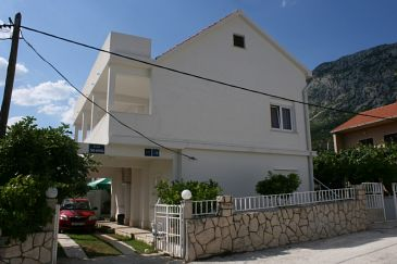 Property Podaca (Makarska) - Accommodation 6875 - Apartments near sea with pebble beach.