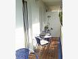 Balcony - Studio flat AS-6881-d - Apartments Gradac (Makarska) - 6881