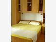 Bedroom - Studio flat AS-6907-c - Apartments Brela (Makarska) - 6907
