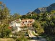 Property Gornja Podgora (Makarska) - Accommodation 6910 - Apartments with pebble beach.