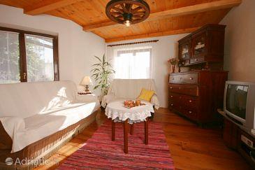 Breze, Living room u smještaju tipa house, dopusteni kucni ljubimci i WIFI.