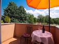 Balcony - Studio flat AS-6926-c - Apartments Fiorini (Novigrad) - 6926