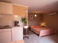 Kitchen - Studio flat AS-6926-c - Apartments Fiorini (Novigrad) - 6926