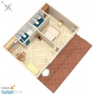 Apartment A-6951-e - Apartments and Rooms Novigrad (Novigrad) - 6951
