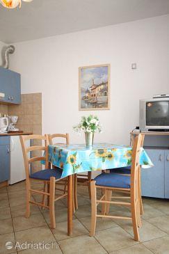Finida, Dining room u smještaju tipa apartment, dostupna klima, dopusteni kucni ljubimci i WIFI.
