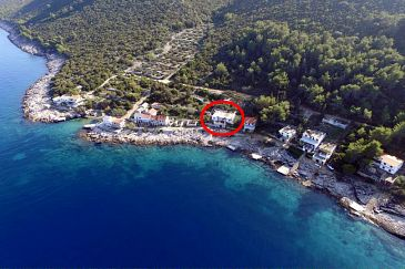 Property Uvala Virak (Hvar) - Accommodation 6969 - Apartments near sea.