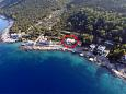 Property Uvala Virak (Hvar) - Accommodation 6969 - Apartments near sea.
