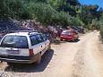 Parking lot Uvala Virak (Hvar) - Accommodation 6969 - Apartments near sea.