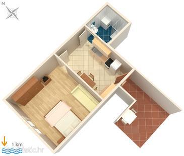 Apartment A-6986-b - Apartments Pula (Pula) - 6986