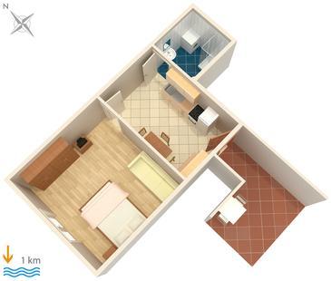 Apartament A-6986-b - Apartamenty Pula (Pula) - 6986