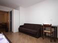 Umag, Bedroom u smještaju tipa apartment, dopusteni kucni ljubimci i WIFI.