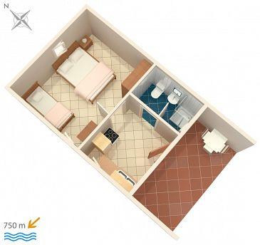 Apartament A-7055-b - Apartamenty Funtana (Poreč) - 7055
