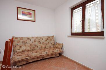Novigrad, Living room u smještaju tipa apartment, dostupna klima i WIFI.