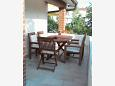 Terrace - Apartment A-7132-b - Apartments and Rooms Umag (Umag) - 7132