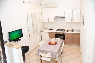 Ližnjan, Dining room u smještaju tipa apartment, dopusteni kucni ljubimci i WIFI.