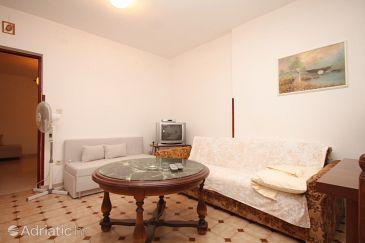 Fažana, Living room u smještaju tipa apartment, dopusteni kucni ljubimci i WIFI.