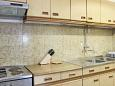 Mirca, Kitchen u smještaju tipa apartment, WIFI.