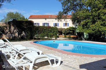 Property Valtura (Pula) - Accommodation 7325 - Vacation Rentals with sandy beach.
