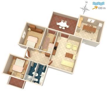 Apartment A-739-b - Apartments Postira (Brač) - 739