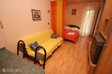 Pješčana Uvala, Living room u smještaju tipa studio-apartment, WIFI.