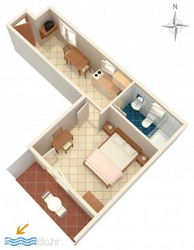Apartment A-7410-c - Apartments Rabac (Labin) - 7410