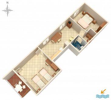 Apartament A-7410-e - Apartamenty Rabac (Labin) - 7410