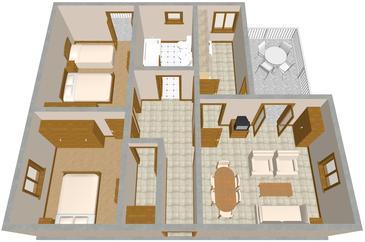 Apartment A-742-a - Apartments Postira (Brač) - 742