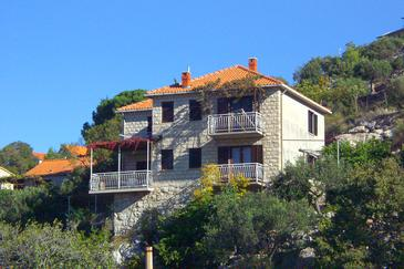 Property Postira (Brač) - Accommodation 742 - Apartments with pebble beach.