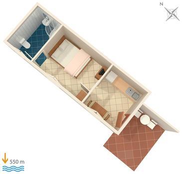 Apartament A-7439-d - Apartamenty Rabac (Labin) - 7439