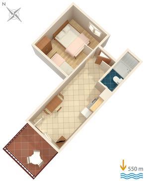 Apartament A-7439-f - Apartamenty Rabac (Labin) - 7439