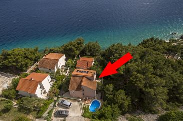 Property Medići (Omiš) - Accommodation 7461 - Apartments near sea with pebble beach.