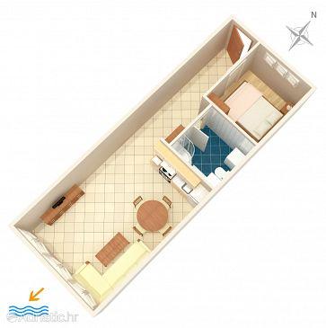 Apartment A-7500-a - Apartments Split (Split) - 7500