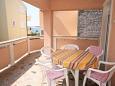 Terrace - Apartment A-7505-b - Apartments Povljana (Pag) - 7505