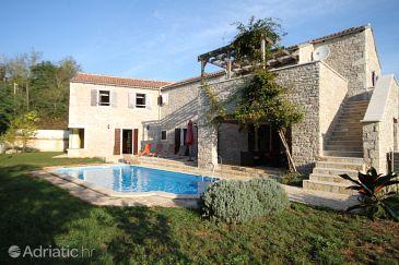 Property Škrapi (Središnja Istra) - Accommodation 7524 - Vacation Rentals with pebble beach.