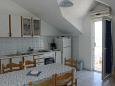 Supetar, Kitchen u smještaju tipa apartment, WIFI.