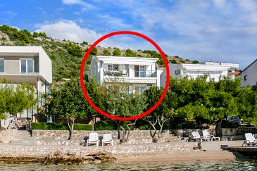 Property Zatoglav (Rogoznica) - Accommodation 7540 - Apartments near sea with pebble beach.