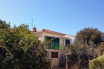 Property Supetar (Brač) - Accommodation 7547 - Vacation Rentals with pebble beach.