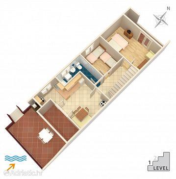 Apartment A-7556-a - Apartments Rogoznica (Rogoznica) - 7556