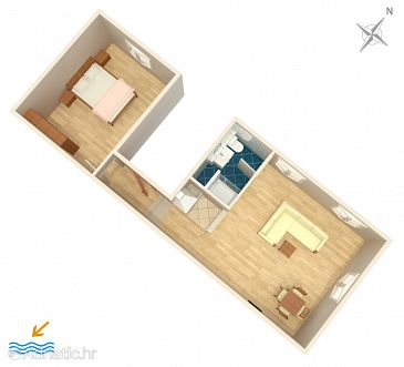 Apartment A-7593-a - Apartments Split (Split) - 7593