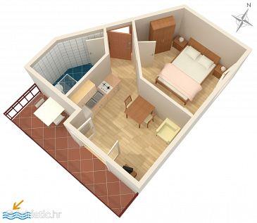 Apartment A-7604-a - Apartments Vodice (Vodice) - 7604