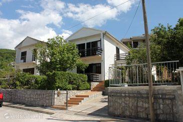 Klenovica, Novi Vinodolski, Property 7605 - Apartments with pebble beach.