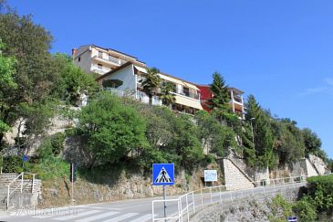 Property Rabac (Labin) - Accommodation 7616 - Rooms with pebble beach.
