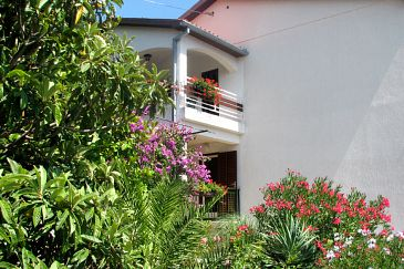 Property Rabac (Labin) - Accommodation 7622 - Apartments with pebble beach.