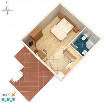 Studio flat AS-7639-a - Apartments and Rooms Novigrad (Novigrad) - 7639