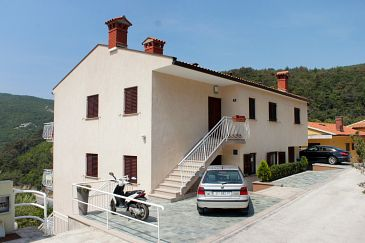 Property Rabac (Labin) - Accommodation 7660 - Apartments with pebble beach.