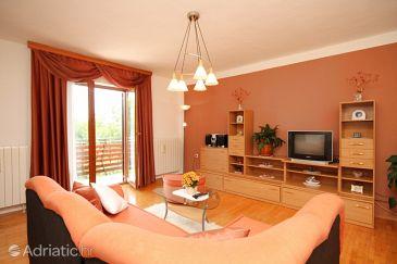 Čepić, Living room u smještaju tipa apartment, dopusteni kucni ljubimci.