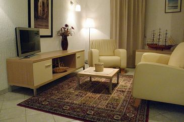 Rabac, Living room u smještaju tipa apartment, WIFI.